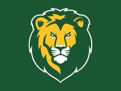 Southeastern Louisiana University Lion mascot state louisiana university lion branding hand drawn sports athletic custom illustration design