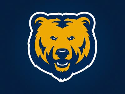 University of Northern Colorado Athletic Bear Logo bears classic grizzly colorado bear athletics sports logo football design illustration custom