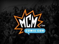 MCM Comic Con Logo