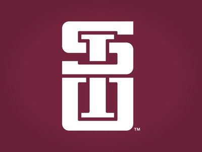 Southern Illinois University Interlocking Logo acronym u i s monogram