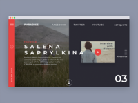 Paradise-Landing Page Cover
