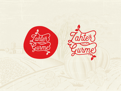 Zahter Gourmet Brand Logo shop food gourmet brand branding logo