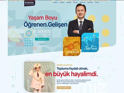 Personal Website Project layout web personalwebsite webdesign ui