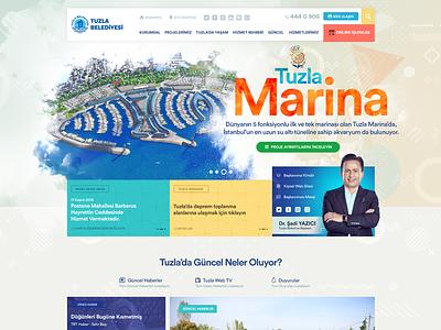 Main banner, header, main menu mainbanner menu mainmenu municipality layout banner website web ui corporate