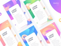 Appstore for HuaJiao graphic huajiao gradients brenttton