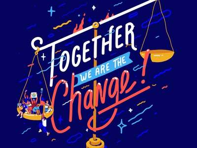 Together we are the change