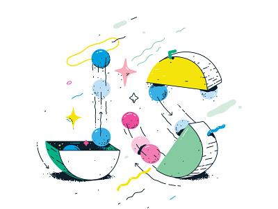 Java Script editorial movement bright development web design frontend java script illustration vector