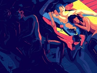 illo for Playboy // Safe for work version