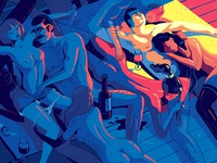 illo for Playboy // Not safe for work version