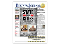 Charleston Regional Business Journal Cover Design