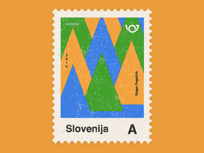 Slovenia - Country of 4 landscapes stamp collection: Forests