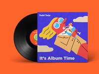 Todd Terje - It's Album Time cover redesign
