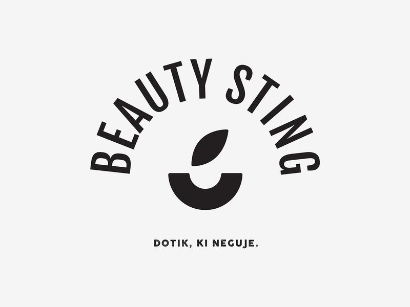Beauty Sting logo branding logo graphic design design