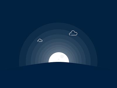 Day&Night gif sun moon animation principle