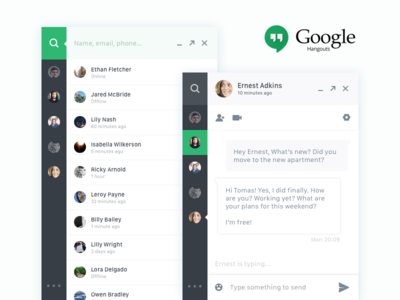 Direct Messaging - Chatbox :: Daily UI challenge #013