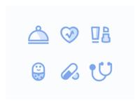 Icons for Pharmapp