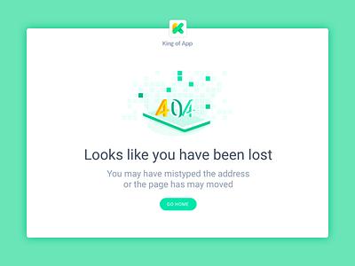 Error 404 :: Kingofapp.com smartphone flat app isometric kingofapp error 404
