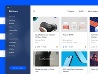 Behance Redesign - Explore