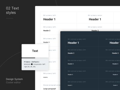 Design System for Editorial Platform styleguide design system app dashboard interface ui mialszygrosz
