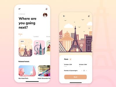 Travel app app appdesign ios mobile application productdesigner productdesign product uiux ux ui travel app travel