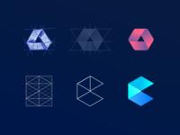 Contour Logo Steps