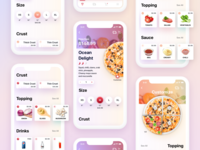 Pizza App UI design