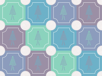 Tree pattern tree icon rings line art trees tree ring pastel pattern fir tree tree fir
