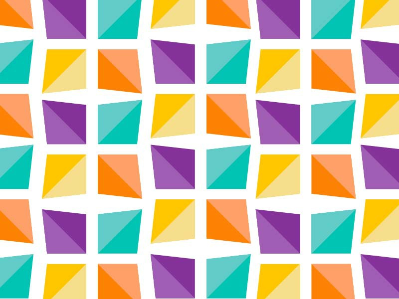 Bright Edge color palette playful pattern sleek geometric colorful bright