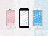 International Transgender Day Of Visibility Phone Backgrounds
