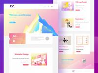 Website design for Windows/Mac os
