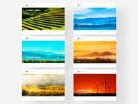 Series of Scenic China- homepage design