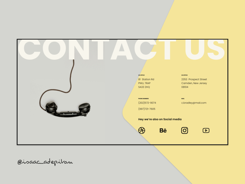 Contact Us - 028 Daily UI Challenge