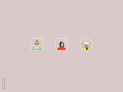 Avatar - 088 Daily UI Challenge avatar design avatars avatar icons avatar dailyuichallenge dailyui 088 minimalist simple minimalism minimal ui design design