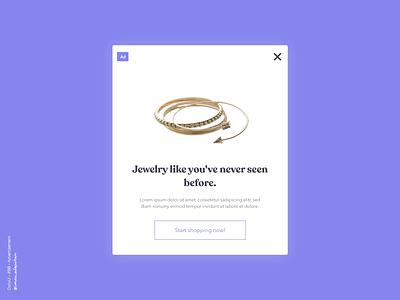 Advertisement - 098 Daily UI Challenge webdesign new uiux webapp design webapplication advertisement advert dailyui 098 dailyui dailyuichallenge simple minimalism minimal ui design design
