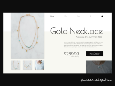 Landing Page Design - Day 003 Daily UI Challenge