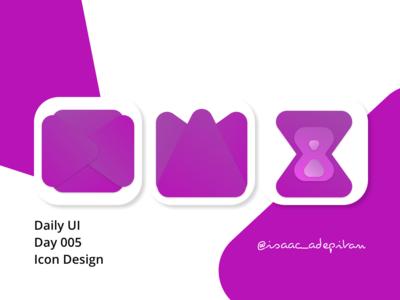 App Icon Design - Day 005 Daily UI Challenge