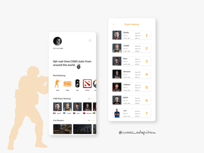 Leaderboard  - 019 Daily UI Challenge