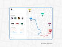 Location Tracker- 020 Daily UI Challenge