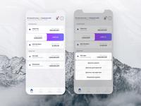 Golomt Bank - Digital banking app design / Default theme  2019