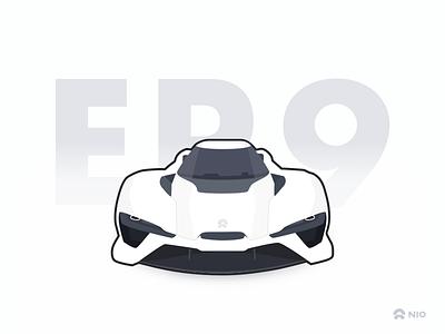 NIO EP9 car ep9 nio