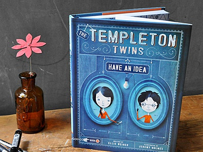 The Templeton Twins: Now available in bookshops books childrens illustration