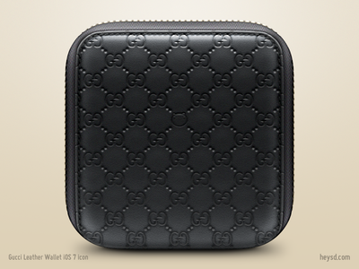 Gucci Leather Wallet icon