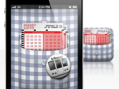 Pocket Lotto iPhone app Default.png & icon apple icon ios iphone mobile photoshop lotto retina hd david im default.png pocket lotto