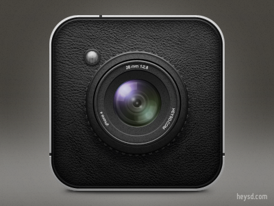 Camera icon v2 apple icon ios iphone iphone 4 photoshop camera retina hd heysd david im