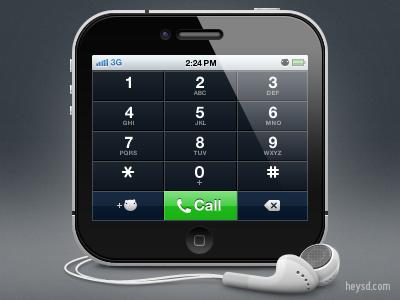 iPhone 4 icon v2 apple icon ios iphone iphone 4 photoshop phone retina hd heysd david im