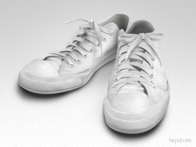 Converse All Stars Leather - Good bye~ icon photoshop david im heysd white converse all stars sneakers