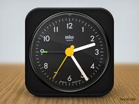 Braun AB1 Clock icon