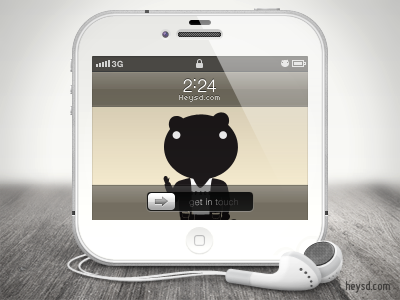 White iPhone 4 icon apple icon ios iphone iphone 4 iphone 4 white photoshop phone retina hd heysd david im