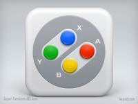 Super Famicom Joypad iOS icon