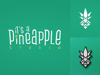 It's a Pineapple Studio - Logo/Lettering
